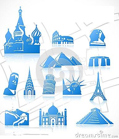 Free Travel Icons. Set 3 Stock Photos - 16700473