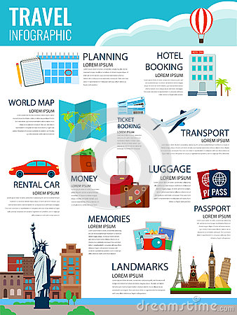 Travel Infographic. Infographics For Business, Web Sites ...