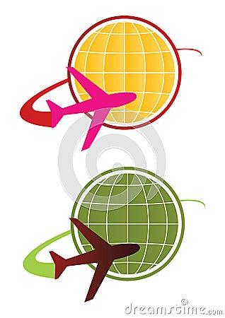 Travel logo concept - vector