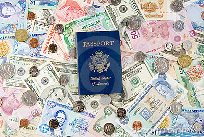 Travel Money & Passport