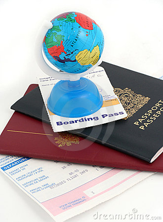 Free Travel Necessities Royalty Free Stock Image - 818606