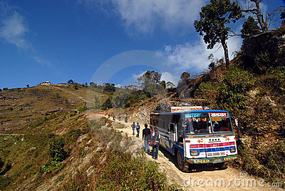 Travel Nepal Editorial Image