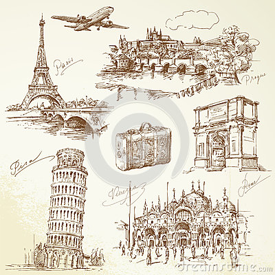 Travel over Europe
