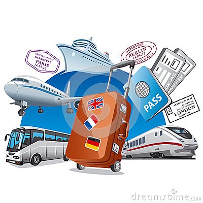 Travel service concept Vector Illustration