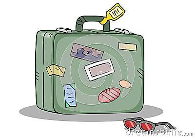 Travel Suitcase Shades