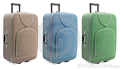 Travel suitcases set -