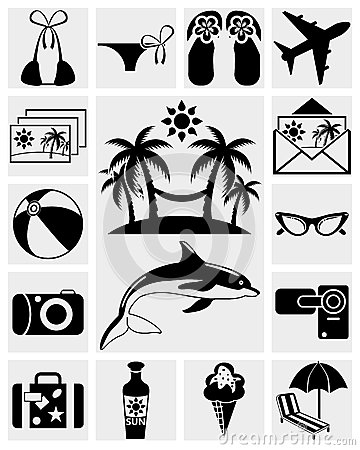 Travel and Summer icons