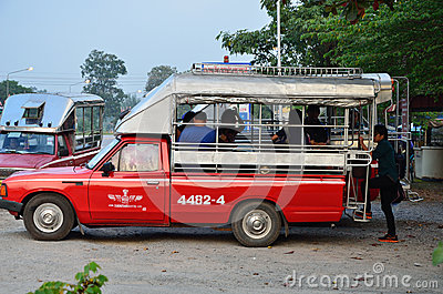 Travel to Phu Kradueng, Loei Editorial Stock Image
