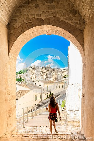 Free Travel To Sicily, Modica Castle Royalty Free Stock Photo - 159495495