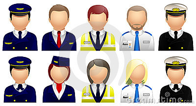Travel & Tourism Avatars and User Icons