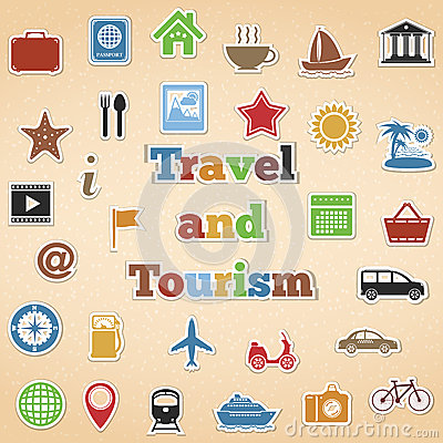 Travel and Tourism Icons