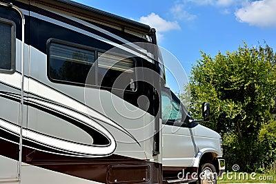 Travel trailer prime mover