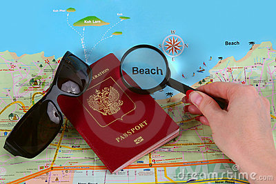 Travel or vacation concept