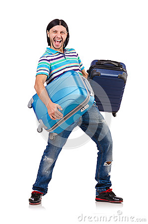 Travel vacation concept with luggage