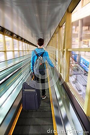 Free Traveler Beginning Journey Royalty Free Stock Image - 39160296