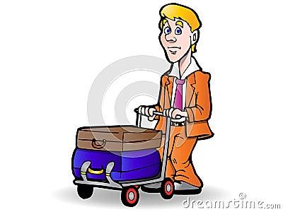 Traveler luggage