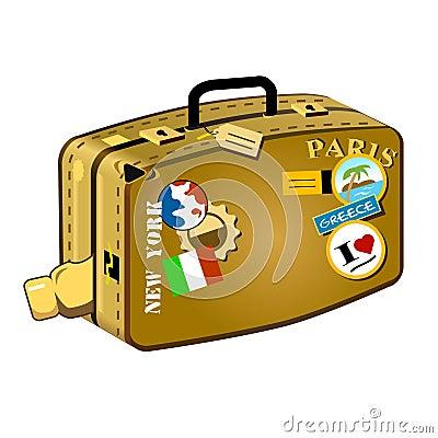 Traveler s suitcase