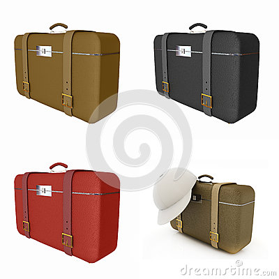 Traveler s suitcase set