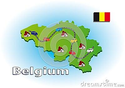 Traveling in Belgium