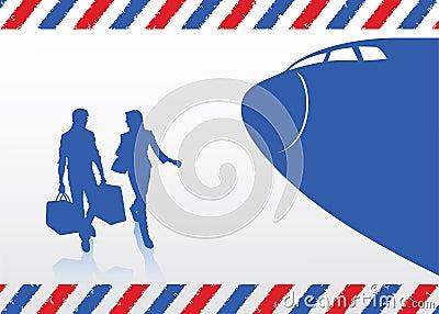 Traveling couple