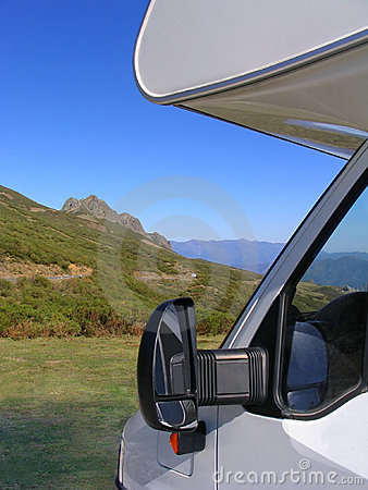 Free Traveling In Motorhome Stock Photography - 303072