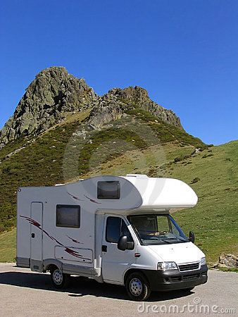Traveling in motorhome
