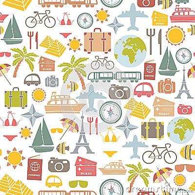 Traveling pattern
