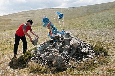Traveling tradition in Mongolia