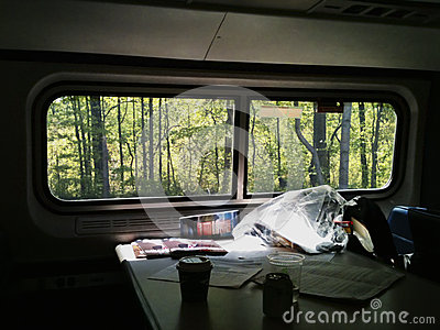 Traveling by train
