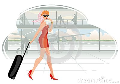 Traveling Woman