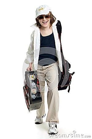 Free Traveller Royalty Free Stock Image - 5825456