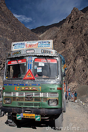 Travelling around ladakh Editorial Stock Photo