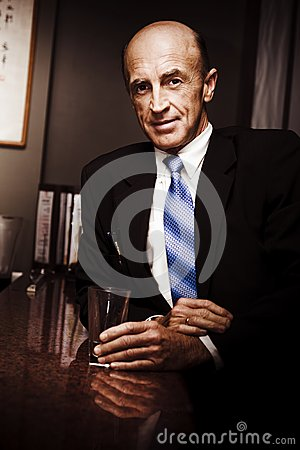 Travelling Businessman At Hotel