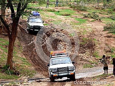 Travelling Ethiopia Editorial Photo