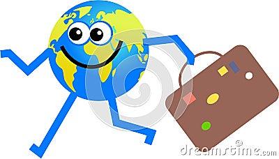 Travelling globe