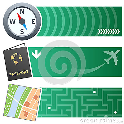 Travelling & Holiday Horizontal Banners