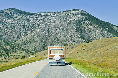 Travelling in Montana