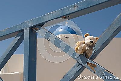 Travelling teddybear