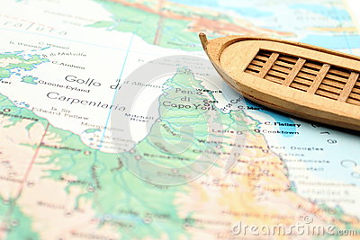 Travelling with a wooden boat