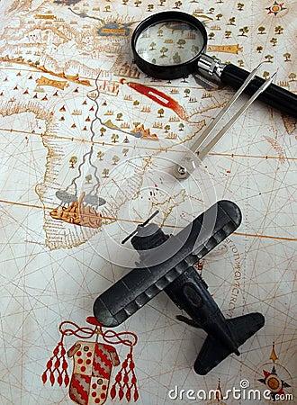 Travels for adventure journey concept