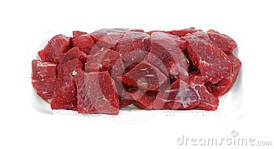 Tray Beef Stew Meat