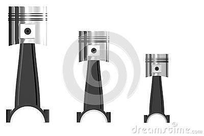 Tre pistoni