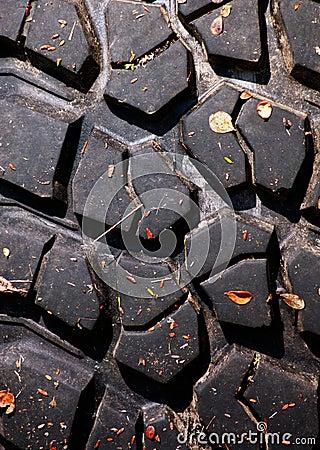 Tread of tyre