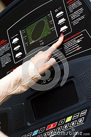 Σύγχρονη treadmill τιμή τών παραμέτρων