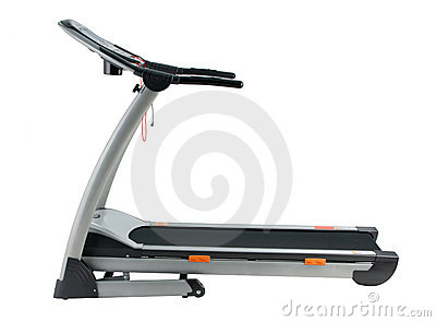 Treadmill running exercise track