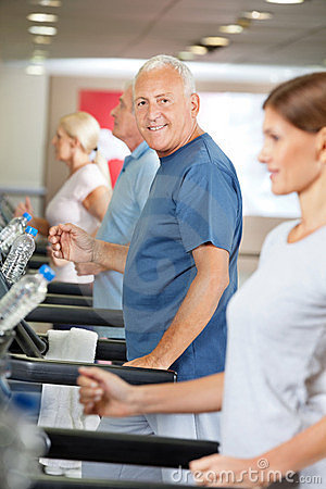 Treadmill training in fitness