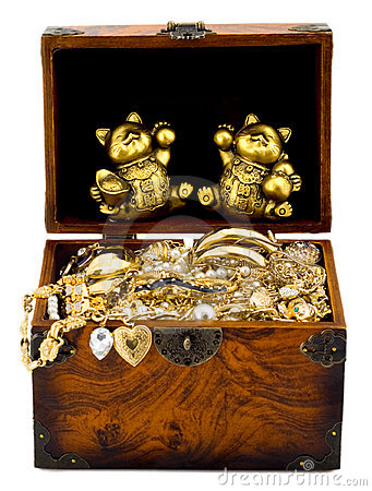 Free Treasure Chest Royalty Free Stock Photography - 10308027
