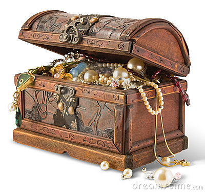 Free Treasure Chest Stock Photography - 10336772