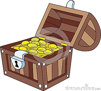 Free Treasure Chest Royalty Free Stock Image - 12026856