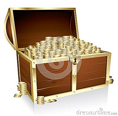 Free Treasure Chest Stock Photos - 13314773
